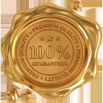 selo ouro qualidade produto